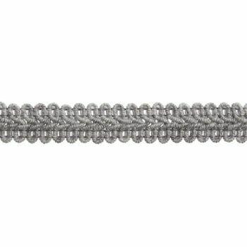 Essential Trimmings Gimp Braid Trim - 15mm (Silver Grey) Per Metre