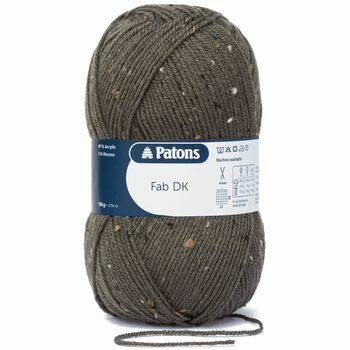 Patons Fab Double Knitting Yarn (100g) - Forest Tweed (Pack of 10)