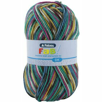 Patons Fab Double Knitting Yarn (100g) - Jeans Colour (Pack of 10)