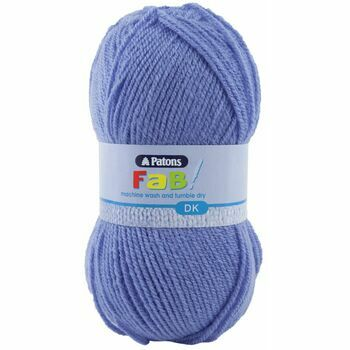 Patons Fab Double Knitting Yarn (100g) - Lilac (Pack of 10)