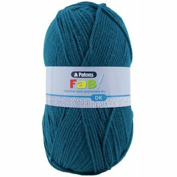 Patons Fab Double Knitting Yarn (100g) - Petrol (Pack of 10)