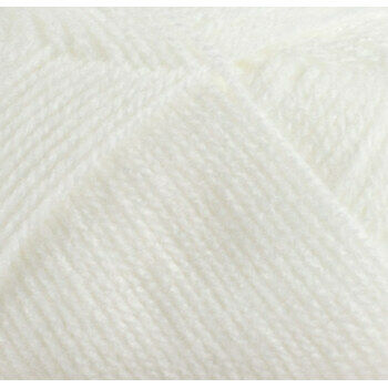 Super Soft Yarn - Baby DK - White BB4 (100g)