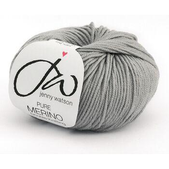 Jenny Watson Pure Merino Yarn - Grey (50g)