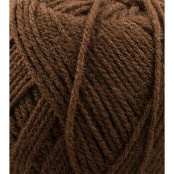 Top Value Yarn - Dark Brown - 841 (100g)