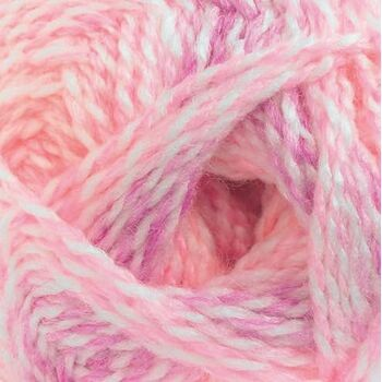 Baby Marble Yarn - Pinks (100g)