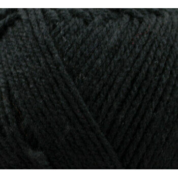 Top Value Yarn - Black - 8430 (100g)