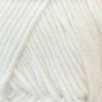 Cotton On Yarn - White CO1 (50g)