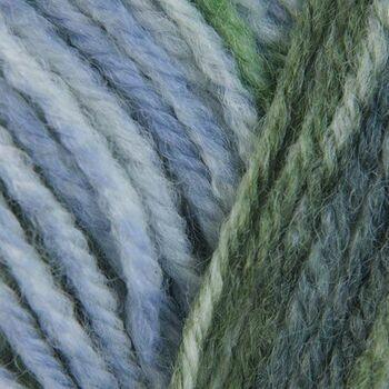 Woodlander Yarn - Green & Blue (100g)