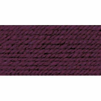 Wool Aran Yarn - Burgundy (400g)