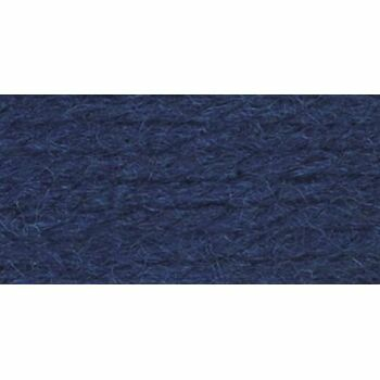 Wool Aran Yarn - Navy (400g)