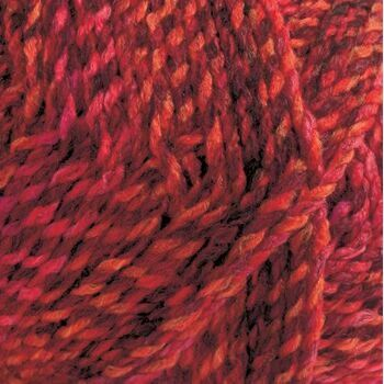 Marble Chunky Yarn - Red shades (200g)