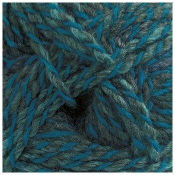 Marble DK Yarn - Blue & Grey (100g)