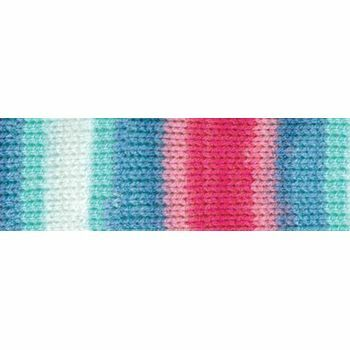 Magi-Knit Yarn - Pink, Blue, White (100g)