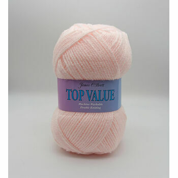 Top Value Yarn - Light Pink - 848 (100g)