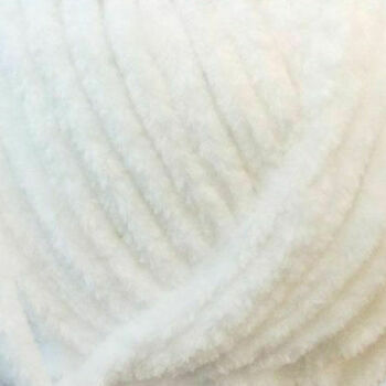 James C Brett Flutterby Chunky Yarn - White - B1 (100g)