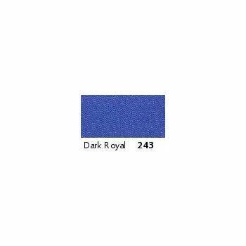 Berisfords: Double Faced Satin Ribbon: 7mm: Dark Royal: Per Metre