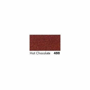 Berisfords: Double Faced Satin Ribbon: 7mm: Hot Chocolate: Per Metre