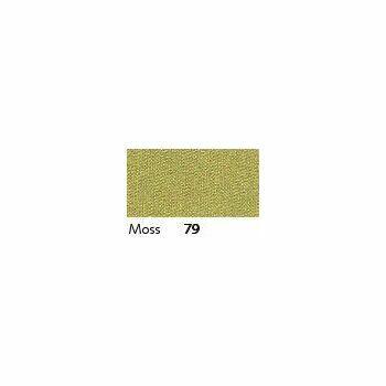 Berisfords: Double Faced Satin Ribbon: 7mm: Moss: Per Metre