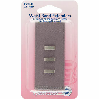 Hemline Waistband Extender Hook (Light Grey)