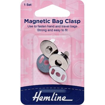 Hemline Magnetic Bag Clip - 19mm