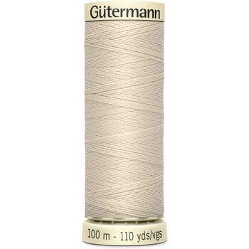 Gutermann Beige Sew-All Thread: 100m (169)