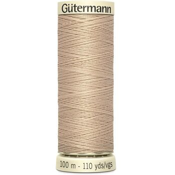Gutermann Beige Sew-All Thread: 100m (170)