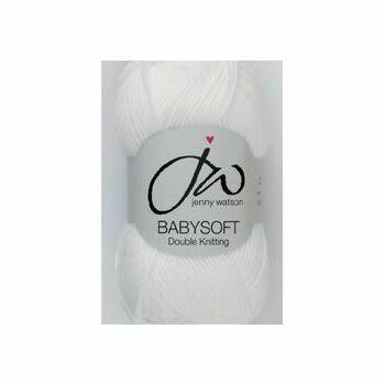 Babysoft Yarn - White (50g)