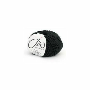 Pure Merino Yarn - Ebony (50g)