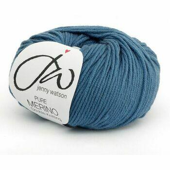Jenny Watson Pure Merino Yarn - Denim (50g)