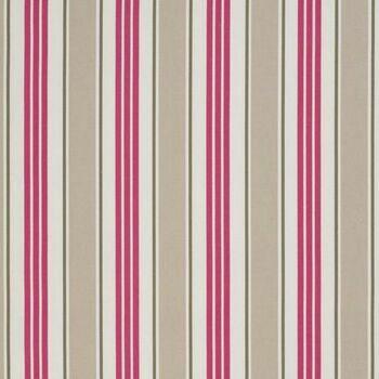 Clarke & Clarke Studio G Vintage Classics Deckchair Stripe Taupe