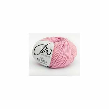 Jenny Watson Pure Merino Yarn - Soft Pink (50g)