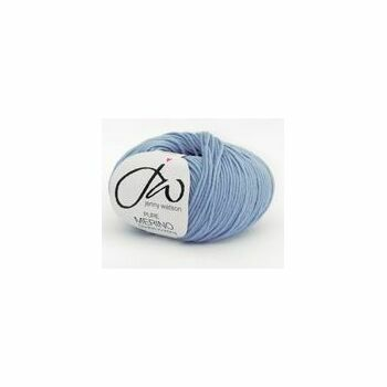 Jenny Watson Pure Merino Yarn - Light Blue (50g)