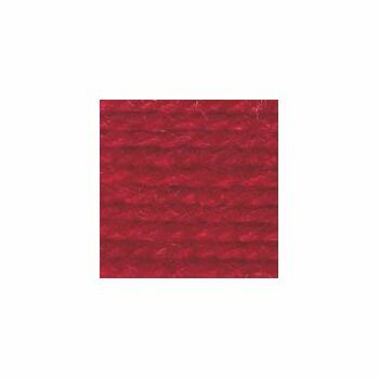 Wool Aran Yarn - Red (400g)