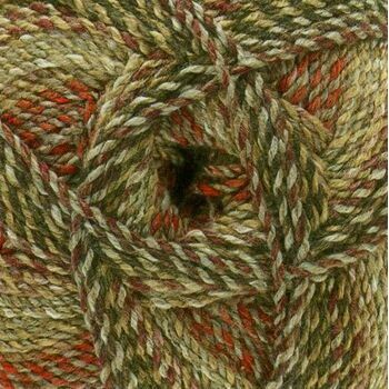 Marble Chunky Yarn- Browns, greys and reds  (200g)