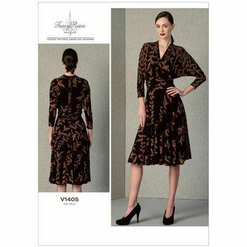 Vogue Pattern V1405 Misses' Dress