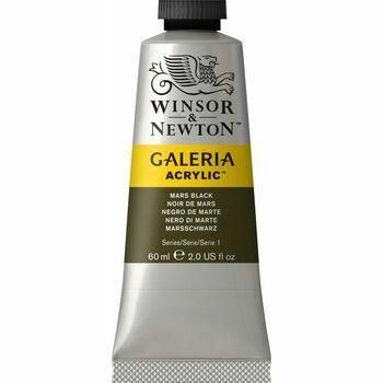 Winsor & Newton Galeria Acrylic Colour Paint 60ml - Mars Black