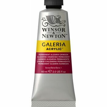 Winsor & Newton Galeria Acrylic Colour Paint 60ml - Permanent Alizarin Crimson