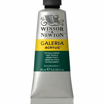 Winsor & Newton Galeria Acrylic Colour Paint 60ml - Phthalo Green