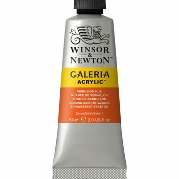 Winsor & Newton Galeria Acrylic Colour Paint 60ml - Vermilion Hue