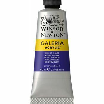 Winsor & Newton Galeria Acrylic Colour Paint 60ml - Winsor Violet