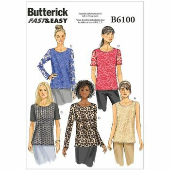Butterick pattern B6100