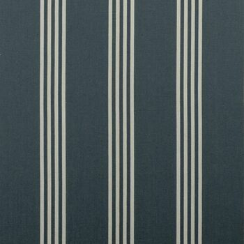 Clarke & Clarke - Ticking Stripes - Marlow Navy