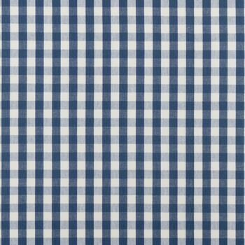 Clarke & Clarke - Ticking Stripes - Coniston Navy
