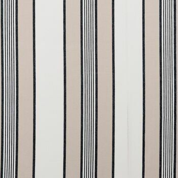 Clarke & Clarke - Ticking Stripes - Regatta Charcoal