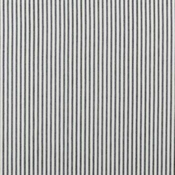 Clarke & Clarke - Ticking Stripes - Sutton Charcoal
