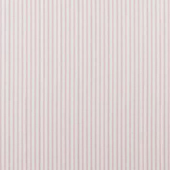 Clarke & Clarke - Ticking Stripes - Sutton Pink