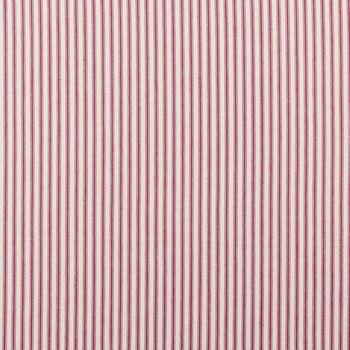 Clarke & Clarke - Ticking Stripes - Sutton Red