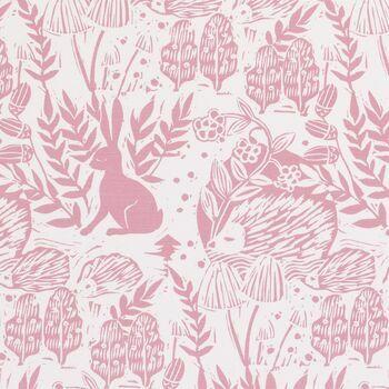 Clarke & Clarke - Storybook - Hedgerow Pink
