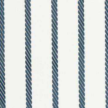 Clarke & Clarke - Storybook - Rope Stripe Blue