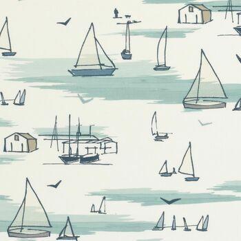 Clarke & Clarke - Storybook - Seashore Blue